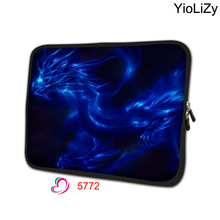 Dragon print Ultralbook cover mini tablet case 7 notebook sleeve 7.9 soft laptop protective bag for ipad 4 case TB-5772(China)