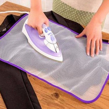 Portable Protective Press Mesh Ironing Cloth Guard Protect Iron Hot Patch Delicate Garment Clothes Ironing Boards