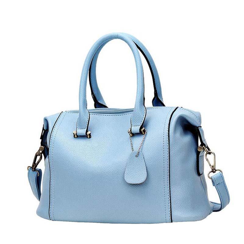 Luxury Leather Handbags Women Fashion Business Boston Tote Bag Large Capacity European Female Messenger Bag<br><br>Aliexpress