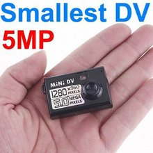 Smallest new Mini DV DVR 5MP HD Digital Camera Video Audio Recorder Webcam Motion Detect Activted Camcorder For Bike /Motorbike(China)