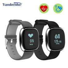 Buy Tiandirenhe P2 Smart Bracelet Blood Pressure Fitness Activity Tracker Heart Rate Monitor Wristband PK MI Band 2 Android IOS for $28.78 in AliExpress store