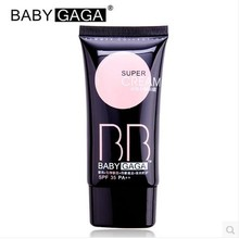 Hot 12pcs/lot BABY GAGA hydra flawless BB&CC cream makeup pure mineral super cream waterproof brighten concealer free shipping