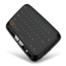 Wireless Air Mouse Full Touchpad mini keyboard 2.4GHz Gaming Touch pad Remote control For Smart TV PS3 TV Box PC Android Windows(China)