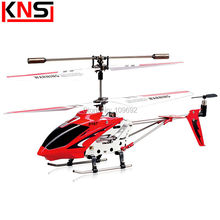 Free shipping 100% Original S107G RC Flying Drone toy S107 Mini 3.5CH Gyro Radio Control Metal Helicopter Gift for children(China)