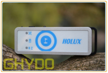 Wholesale Holux Bluetooth Wireless GPS Receiver mini GPS Data Logger M-1200E for outdoor sports shutterbug Free Shipping