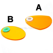 5pcs Dental LED Light Shading Film Block Rubber Gasket Cover Plate for  Light Guide Bar 8mm Dental Curing Light Lamp Machine