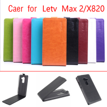 Hot Sale Flip PU Leather Case For Letv Le Max 2 X820 Cover Phone Bag BW Brand fundas(China)