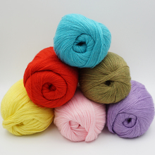 10 pieces*50g Mink cashmere 98%,pashm 2% Wholesale! Yarn for knitting mink baby wool hand-knitted Soft hand knitting thread t3(China)