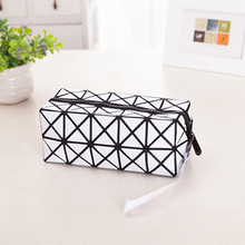 Multi-Function Travel Storage Cosmetic Bag Flash Diamond Leather Makeup Make Up Wash Tool Organizer Storage Bags