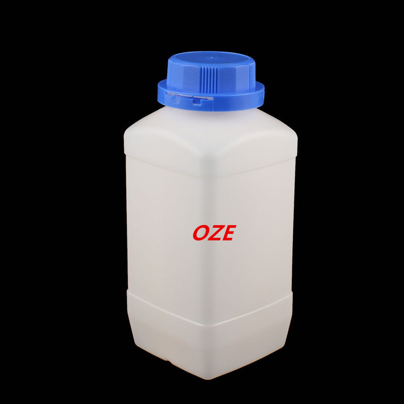 5 Pcs 1500ml Plastic Square Wide Mouth Chemical Sample Reagent Bottle Thickening<br>