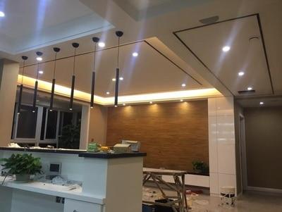 Dimmable Pendant Lights Modern Kitchen Lamp Dining Room Bar Counter Shop Pipe Pendant Down LED Lights Kitchen Spot Light 3cm (8)