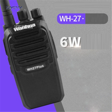 New WH27B Professional Walkie Talkie 3800mAh 6W Portable Ham Two Way Radio 403-470MHz Frequency 1.5-6km Call range Pagers(China)