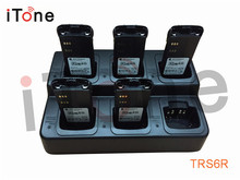 Itone 6-Way Battery Charger For Two way radio /Walkie Talkie/Portable Radio/Ham Radio For Motorola For ICOM For VERTEX(China)