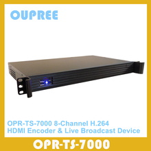OPR-TS7000 HDMI Encoder & Live Steam Broadcast Device for remove hide watermark, finger print, receiver codes