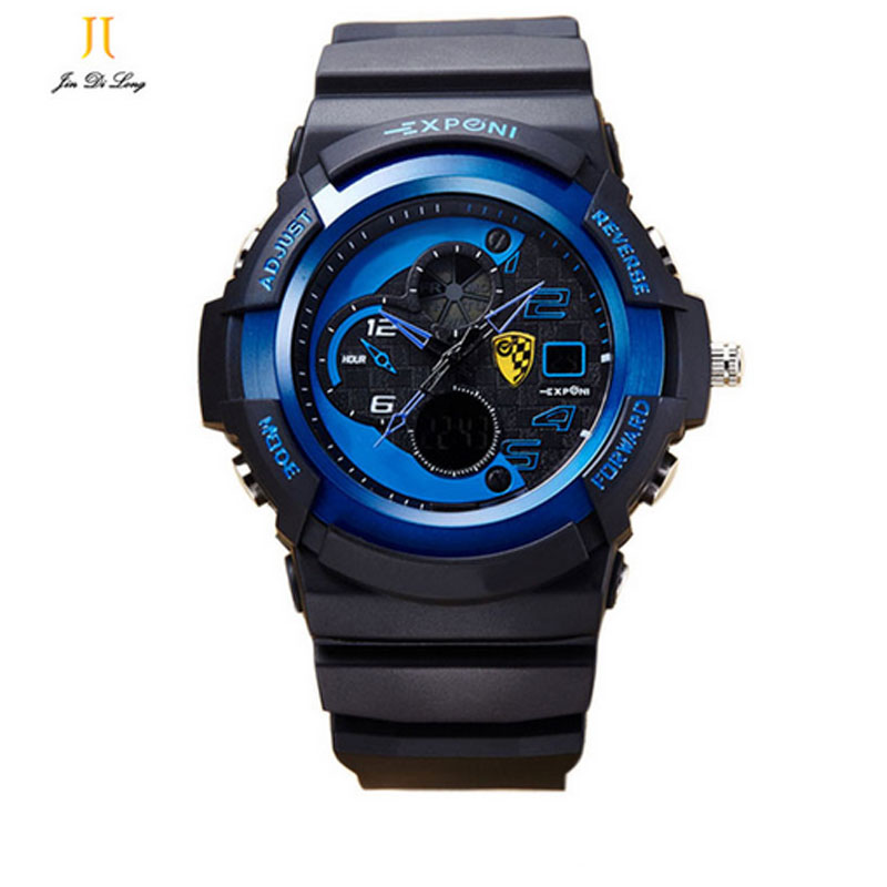 Mens Fashion Sports Watches Digital Wristwatches Electronic Movement Noctilucent Multifunction Electronic Shock Watch Xmas<br>