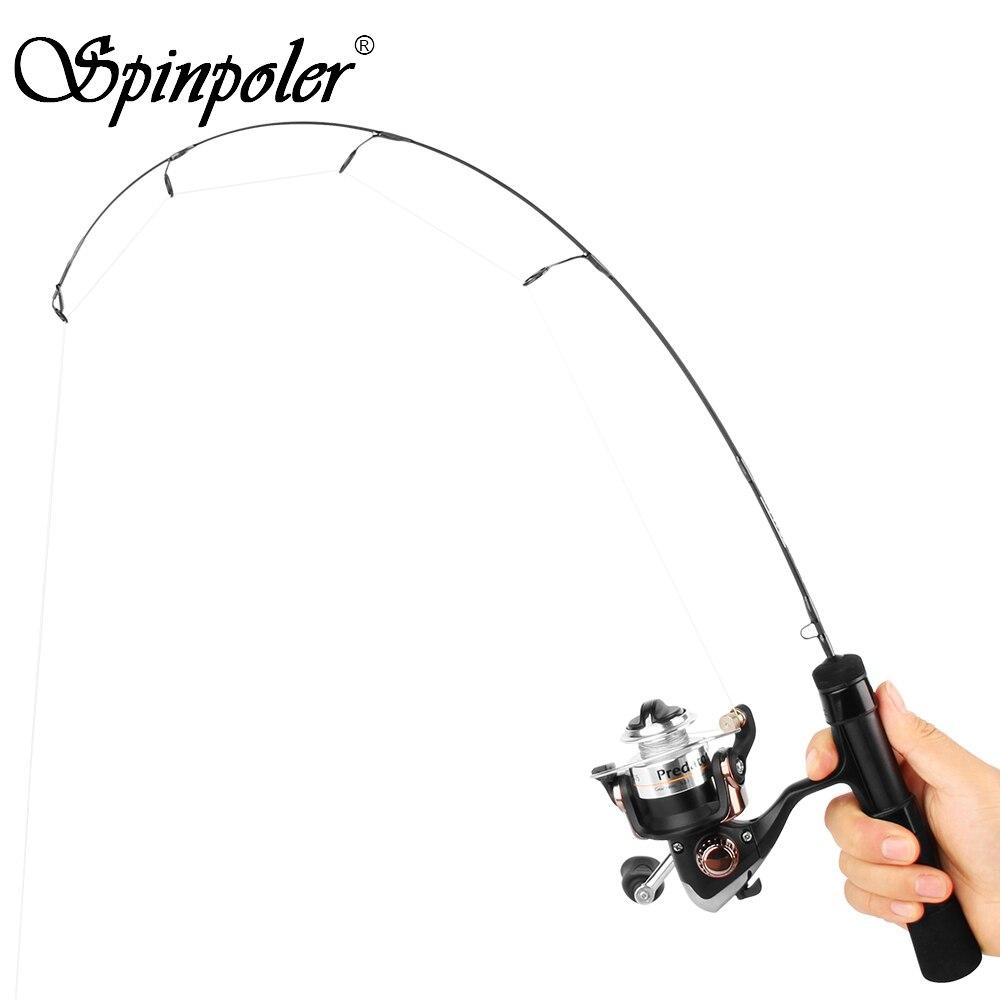 1PC Fashion Winter Short Ice Fishing Rod Travel Lure Rod Sea Saltwater Pole