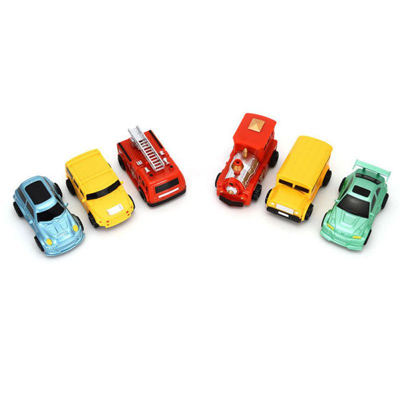 1pcs Mini Magic Pen Inductive Toy Car Model Series Puzzle Follow Any Line You Draw Toys For Children Boys Kids Birthday Gift 15