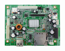 Media player board  Two USB devices (default) or One USB device and one CF/SD/MMC