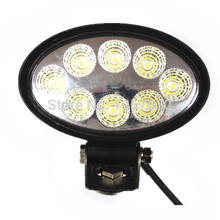 "1piece Cheap Goods From China 24V Led Work Lamps, 5.6inch"" High Intensity Epsitar Leds, 24W Oval Led Work Light(China)"