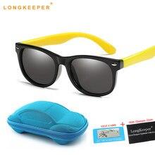 Polarizados óculos de Sol Dos Miúdos Das Meninas Dos Meninos Do Bebê Infantil  Óculos de Sol 100% UV400 Shades Oculos Eyewear Cri. 1cbd693b8b