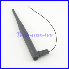 10 peice/ot 2.4Ghz 5dBi WiFi Wireless Network Router Omnidirectional Antenna With Open Cover Omni 1.13 Cable