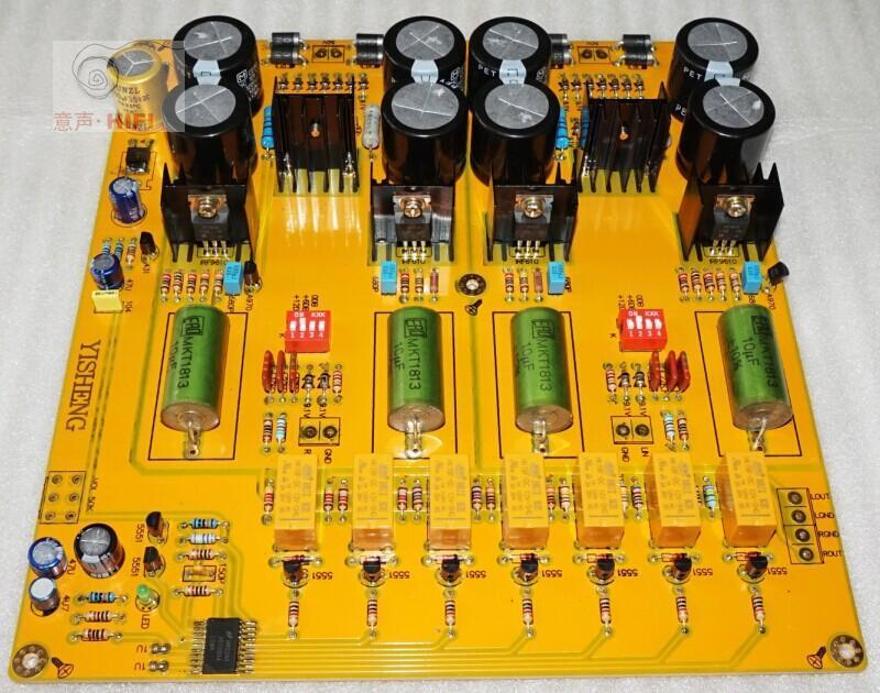 Assembled PASS 2.0 single-ended class A preamp board /FET preamplifier L1511-41<br><br>Aliexpress