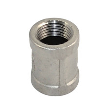 "1 PC New 1/2"" Male x 1/2"" Male Hex Nipple Stainless Steel 304 Threaded Pipe Fitting NPT"