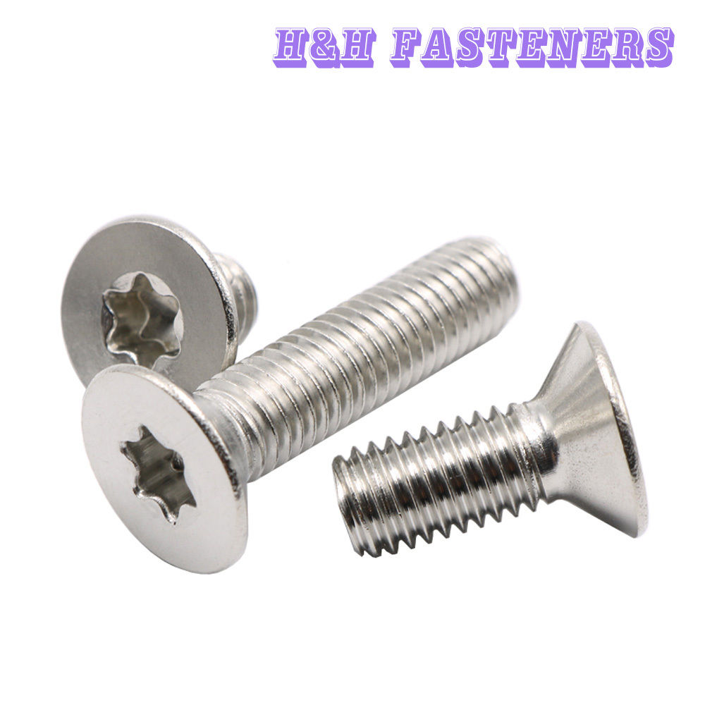 M4-.7 X 10 Slotted Flat Machine Screw A2 Stainless Steel Package Qty 100