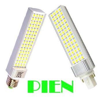 E27 G24 LED bombillas 12W PL LED light Lamparas for home focos ampoule 110V 220V Free shipping 3pcs