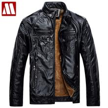 Mens Leather Jackets and Coats Pu Leather Jaqueta Couro Masculina Jacket Man Jaqueta De Couro Men's Winter Leather Jacket F049