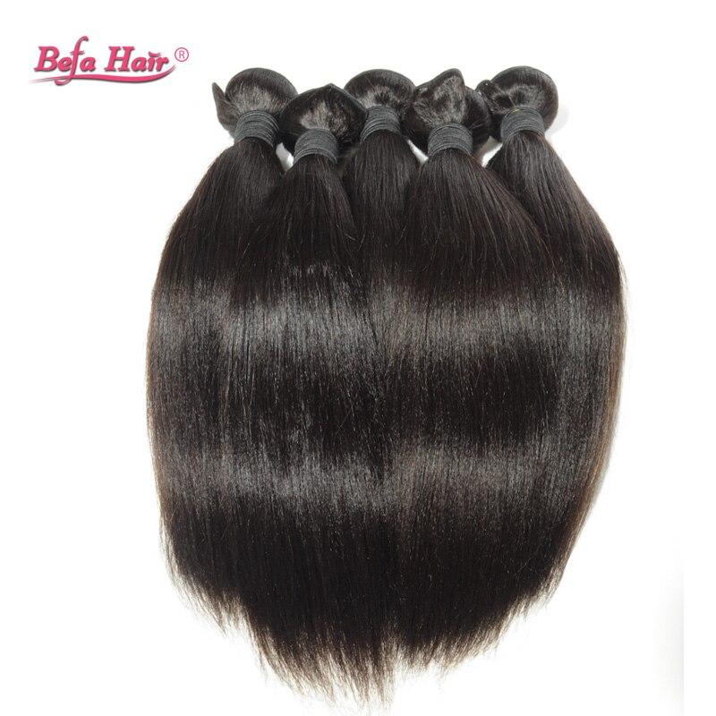 6A 12~30 Yaki Straight Hair Weave 1Pcs Befa Hair Products Unprocessed Virgin Brazilian Hair Yaki Straight Fast  Shiping<br><br>Aliexpress