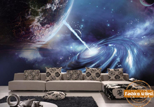 Custom 3d wallpaper mural star of outer space universe Starcraft tv sofa bedroom living room cafe bar restaurant background