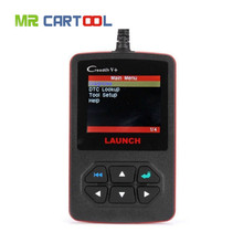 [LAUNCH Distributor] 100% Original Launch Creader V+ OBD2 code scanner CReader V Plus Support Multi-Language update online FREE