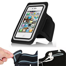 "Exyuan Workout Cell Phone Arm band Running Sports Arm Belts Case For EE Harrier mini 4.7"" / AIRIS 4"" DUAL CORE TM420 #2"