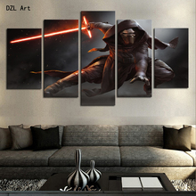 Drop Shipping 5 Piece Star Wars Home Wall Decor Canvas Picture Art HD Print Painting On Canvas for Living Room