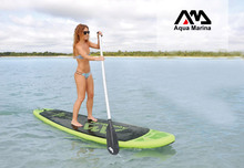 AQUA MARINA 10ft BREEZE stand up paddle board inflatable surf board surfboard inflatable boat kayak with paddle to choose