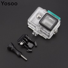 Camera Accessories 40M Waterproof/Dustproof Case Housing Case For xiaomi yi Action Camera Diving Snorkeling Sports Box