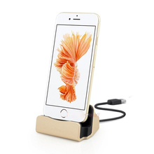 High Quality Sync Data Charging Dock Station Cellphone Desktop Docking Charger USB Cable For iPhone7 iPhone 5 5S 5C 7 6s 6 Plus