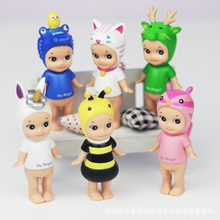 6pcs/set Sonny Angel Animal Dolls Halloween/Christmas/Easter Holiday Serie Mini Action Figure PVC Toys for Baby Girls Boys Gifts(China)