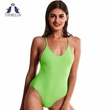 swimming suit for women swimwear Beach beachwear One Pieces SwimSuits girl swimwear swim Brazil sexy swimsuit green swimsuits(China)