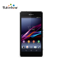 "Original Sony Xperia Z1 Compact D5503 Cell phone 3G/4G Android Quad-Core 2GB RAM 4.3"" Screen 20.7MP Camera WIFI GPS 16GB Storage"