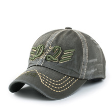 2017  Men Baseball Cap Army  Retro Washed Embroidery Baseball  Cap Casual Men Baseball Dallas Caps Cowboys Hats