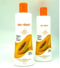 Real Effect! Silka Skin Whitening Papaya Body Lotion Whiten as early as 7 days! Fairer Youthful 200ml Free Shipping(China)
