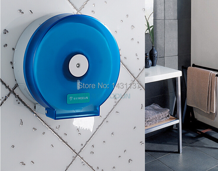 ABS material high quality  wall mounted bathroom light blue paper holder hotel products<br><br>Aliexpress