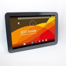 Sale!!10.1 AllWinner A33 Quad core IPS Android 4.4 Tablet PC 8GB ROM 1GB RAM 1280*800 support multi languages