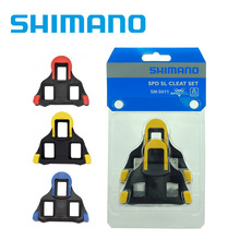 Genuine licensed Shimano cleats spd SPD-SL Road Pedal Cleats Dura Ace,Ultegra:SM-SH11 sh-10 sh-12(China)