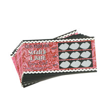 12pcs cute do a dare scratch card game funny joke toy wedding shower hen night bachelorette party girls night out accessories