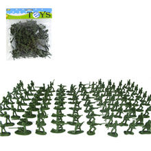 SUN & CLOUD 100 Pcs/set Mini Soldier for Kids Toy Classic War Games Props Random