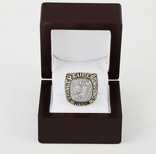 Drop shipping 1995 New Jersey Devils Stanley Cup Copper world Championship Ring with Gorgeous Wooden Boxes(China)