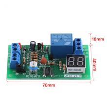 DC12V LED Display Countdown Timing Timer Delay Turn OFF Relay Switch Module Timer Relay Countdown Off Module(China)